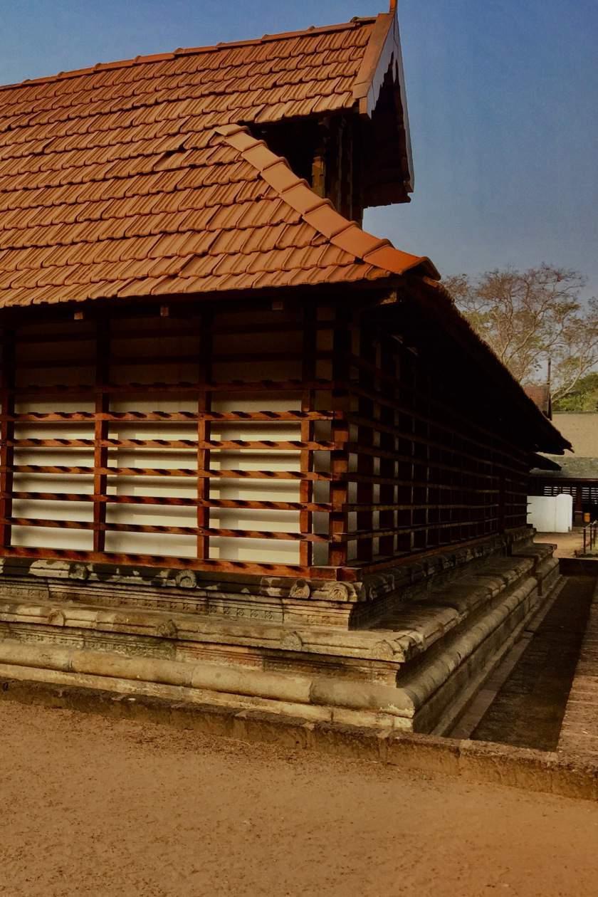 Architectural details at Vadakkumnathan Shiva Temple, Thrissur